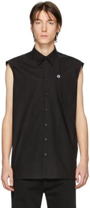 Raf Simons Black Sleeveless Regular Fit Shirt