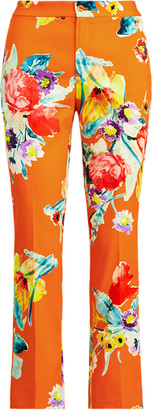 Ralph Lauren Carlina Floral Cotton Trouser