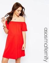 Asos Off Shoulder Mini Dress