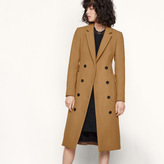 Maje Long coat in new wool