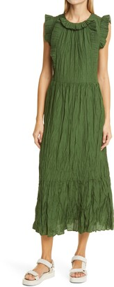 Sea Tessa Sleeveless Ruffle Dress
