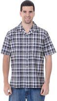 Dickies Big & Tall Plaid Camp Button-Down Shirt