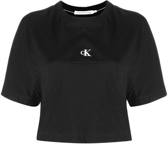 Calvin Klein Jeans logo-print cotton T-shirt