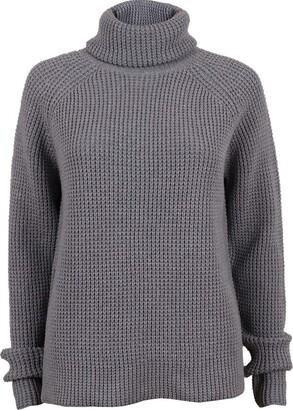 G Star Women's Ave Zip Turtle Clean Knit wmn Long Sleeve