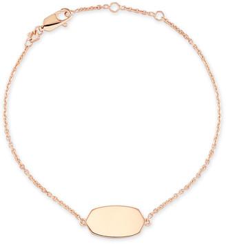 Kendra Scott Elaina Delicate Chain Bracelet In Sterling Silver