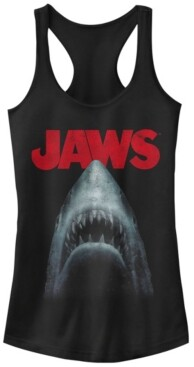 Fifth Sun Jaws Shark in Dark Waters Classic Icon Ideal Racer Back Tank