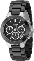 DKNY Chambers Black Ceramic Watch