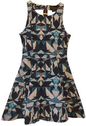 Style Stalker Blue Cotton - elasthane Dress for Women