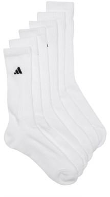 adidas Climalite Compression Men's Crew Socks - 6 Pack