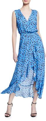 Parker Betty Sleeveless Floral High-Low Dress