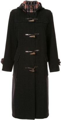 Burberry Pre Owned toggle-fastening coat