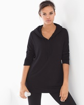 Soma Intimates Divine Terry Shirred Sleeve Pullover