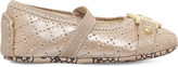 MICHAEL Michael Kors Zia-Baby Gia quilted pumps 0-12 months