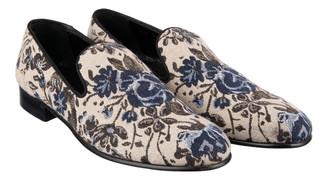 Dolce & Gabbana Beige Cloth Flats