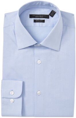 John Varvatos Regular Fit Solid Dress Shirt