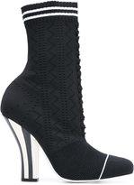 Fendi high heel boots