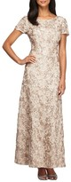 Alex Evenings Petite Women's Embellished Lace Gown