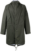 Universal Works hooded parka - men - Cotton - M