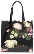 Ted Baker Large Coracon Kensington Floral Tote - Black