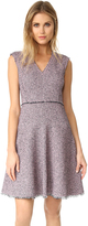Rebecca Taylor Sleeveless Tweed Dress