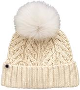 UGG Textured Cuff With Pom Pom Detail Hat