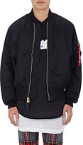 Purpose Tour XO Barneys New York Men's MA-1 Portrait Bomber Jacket-BLACK