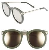 Karen Walker Women's 'Super Lunar - Arrowed By Karen' 52Mm Sunglasses - Khaki/ Gold