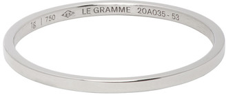 Le Gramme White Gold Le 1 Grammes Wedding Ring