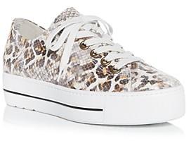 Paul Green Women's Bixby Platform Low Top Sneakers
