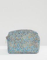 Asos Glitter Leopard Makeup Bag
