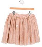 Stella McCartney Girls' Tulle Star Print Skirt