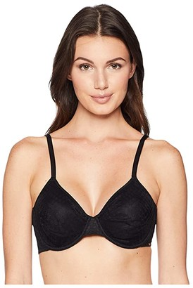 Le Mystere Modern Unlined 2588 (Black) Women's Bra