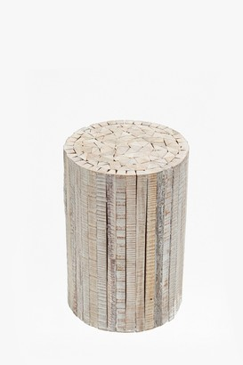 French Connection Natural Driftwood Stool Medium