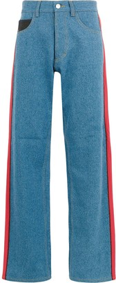 Koché side stripe jeans