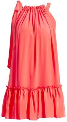Le Superbe Mini Flounce Dress