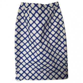 Jonathan Saunders Blue Cotton Skirts