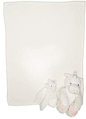 Elegant Baby Unicorn Huggie and Lovie Set (Infant) (White) Accessories Travel