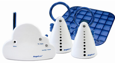 Parent Units Angelcare Movement and Sound Monitor with 2