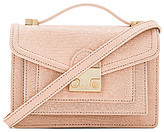 Loeffler Randall Mini Rider in Blush.
