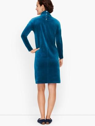 Talbots Lightweight Velour Dress