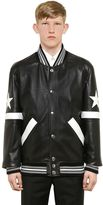 Givenchy Nappa Leather Bomber Jacket