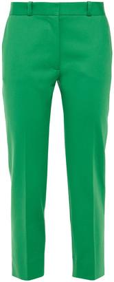 Joseph Bing Court Cropped Cotton-blend Straight-leg Pants