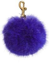J.Crew Women's Faux Fur Pompom Keychain