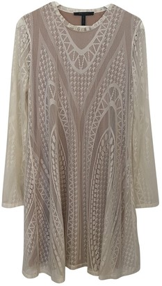 BCBGMAXAZRIA White Lace Dress for Women