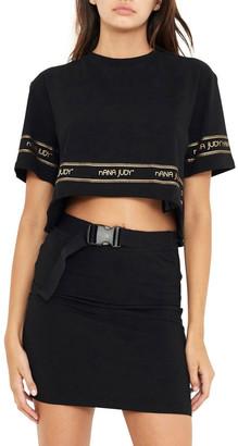 nANA jUDY Demi Crop T-Shirt
