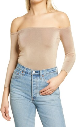 GUESS Dita Off the Shoulder Top
