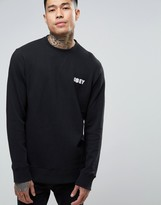 Obey Sweatshirt With Small Logo