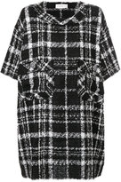 Faith Connexion - checked shift dress
