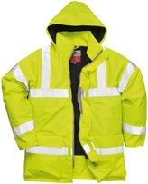 Portwest Bizflame Rain Hivis Antistatic FR Jacket - L