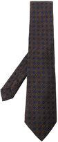 Etro geometric embroidered tie